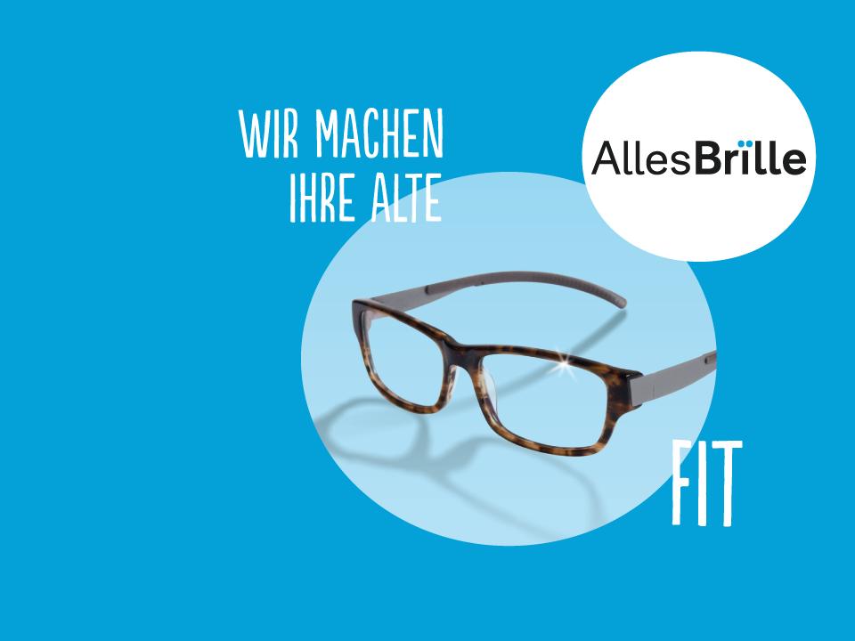 Alte Brillen aufarbeiten, Gläser einschleifen - AllesBrille Berlin